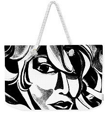 The Sketched Ai Weekender Tote Bag