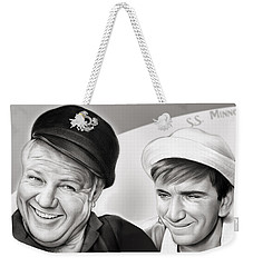 The Skipper And Gilligan Weekender Tote Bag