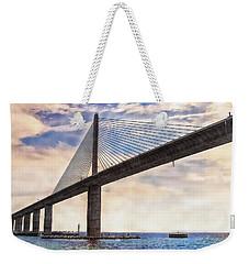The Skyway Weekender Tote Bag