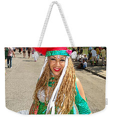 Weekender Tote Bag featuring the photograph The Smile by Ed Weidman