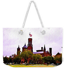 The Smithsonian Weekender Tote Bag by Bill Cannon
