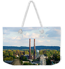 The Smoke Stacks Stand Resolute  Weekender Tote Bag