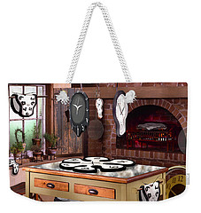 The Soft Clock Shop 2 Weekender Tote Bag by Mike McGlothlen