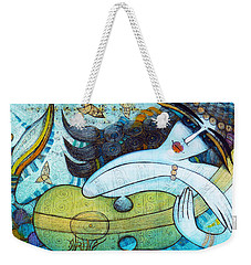The Song Of The Mermaid Weekender Tote Bag