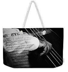 The Sound Of Memory Weekender Tote Bag by Connie Handscomb