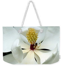 The Southern Magnolia Weekender Tote Bag by Kim Pate