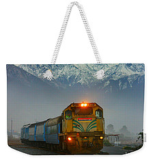 The Southerner Train New Zealand Weekender Tote Bag