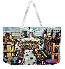 The Spanish Steps Weekender Tote Bag by Rita Brown