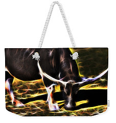 The Sparks Of Water Buffalo Weekender Tote Bag by Miroslava Jurcik
