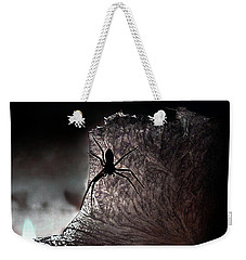 The Spider On The Candle - Subtly Colored Version Weekender Tote Bag