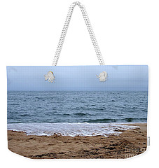 The Splash Over On A Sandy Beach Weekender Tote Bag