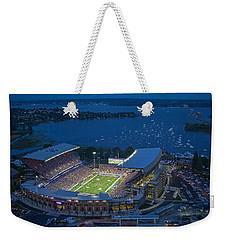 Husky Stadium And The Lake Weekender Tote Bag