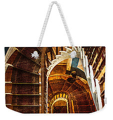 The Staircase Weekender Tote Bag