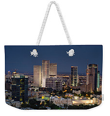 Weekender Tote Bag featuring the photograph The State Of Now by Ron Shoshani
