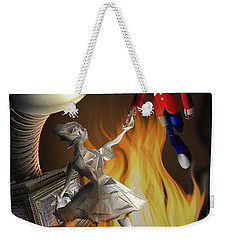 The Steadfast Tin Soldier ...the Envy... Weekender Tote Bag