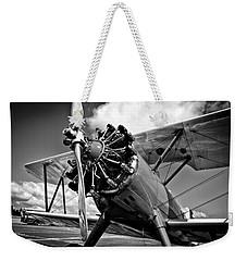 The Stearman Biplane Weekender Tote Bag