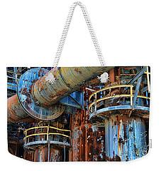 The Steel Mill Weekender Tote Bag