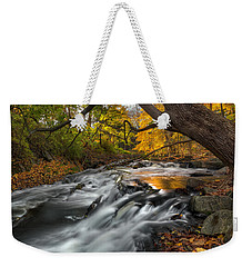 The Still River Square Weekender Tote Bag