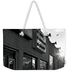 The Stone Pony Asbury Park Side View Weekender Tote Bag by Terry DeLuco
