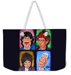 The Rolling Stones Weekender Tote Bag
