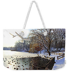 The End Of The Storm Weekender Tote Bag by Dora Sofia Caputo Photographic Art and Design