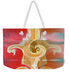 Weekender Tote Bag featuring the digital art The Storm Tree by Kevin McLaughlin