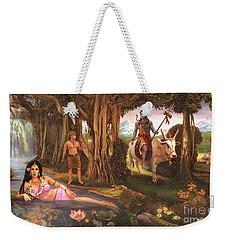 The Story Of Ganesha Weekender Tote Bag