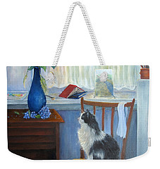 The Studio Cat Weekender Tote Bag