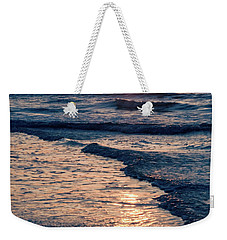 Sun Rising Over The Beach Weekender Tote Bag