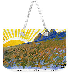 The Sun Shines For All Weekender Tote Bag