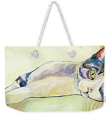 The Sunbather Weekender Tote Bag by Pat Saunders-White
