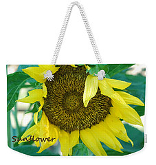 Sunflower Garden Weekender Tote Bag by Lisa  DiFruscio