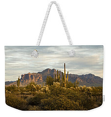 The Superstition Mountains Weekender Tote Bag