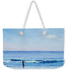 The Surf Fisherman Weekender Tote Bag by Jan Matson