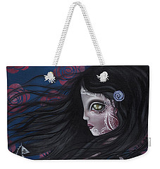 The Swan Weekender Tote Bag by Abril Andrade Griffith