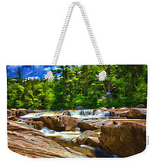 The Swift River Beside The Kancamagus Scenic Byway In New Hampshire Weekender Tote Bag