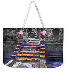 The Talk Version One Weekender Tote Bag