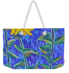 The Tall And Short Of It Weekender Tote Bag by Margaret Bobb