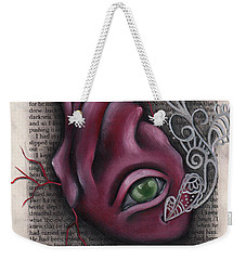 The Tell Tale Heart Weekender Tote Bag by Abril Andrade Griffith