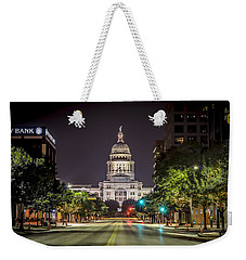 The Texas Capitol Building Weekender Tote Bag