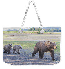 The Three Bears Weekender Tote Bag by Chris Scroggins