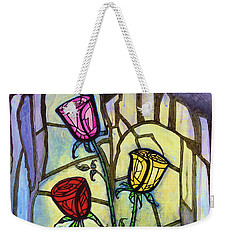 The Three Roses Weekender Tote Bag
