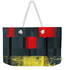 The Three Trees - J021580118  Weekender Tote Bag by Variance Collections