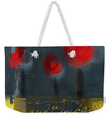 The Three Trees Weekender Tote Bag