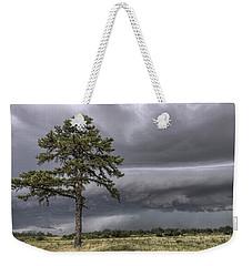 The Thunder Rolls - Storm - Pine Tree Weekender Tote Bag