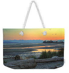 The Tide Is Low Weekender Tote Bag