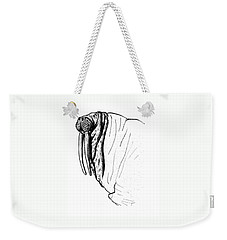 The Time Has Come The Walrus Said Weekender Tote Bag