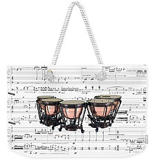 The Timpani Weekender Tote Bag