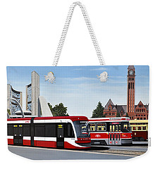 The Toronto Streetcar 100 Years Weekender Tote Bag