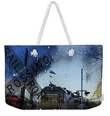 The Train Weekender Tote Bag